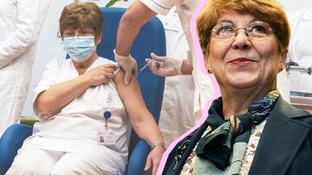 """Maria Capobianchi è la prima vaccinata in Italia dopo aver isolato il virus: """"Una luce di speranza"""""""