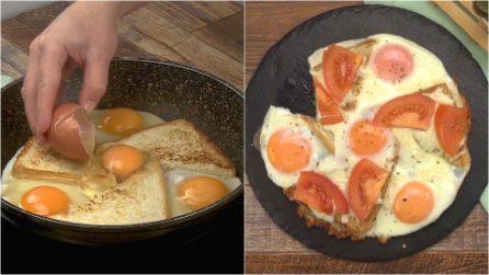 Uova ad occhio di bue e pomodoro: la ricetta sfiziosa da gustare quando vuoi!