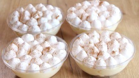 Mini dessert con pane raffermo: la ricetta golosa e semplice da preparare