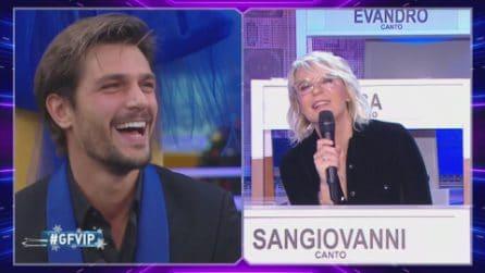 Grande Fratello VIP - Maria De Filippi ha un messaggio per Andrea Zelletta
