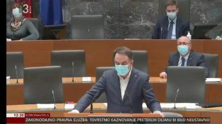 Terremoto a Zagabria: parlamentari scappano dall'aula durante la scossa avvertita anche in Slovenia