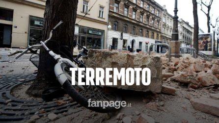 Terremoto in Croazia di magnitudo 6.4: avvertito da Trieste a Napoli