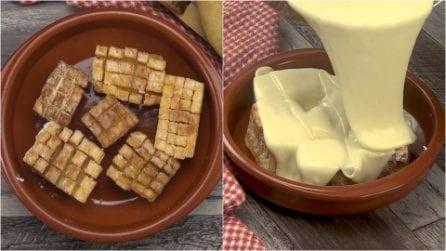 Patate fritte con fonduta: sorprendenti e piene di gusto!