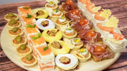 Party appetizer: surprise your guests with these delicacies!