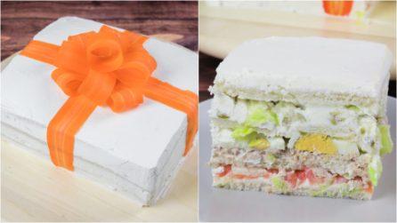 Torta tramezzino: regala un gusto sorprendete ai tuoi ospiti!