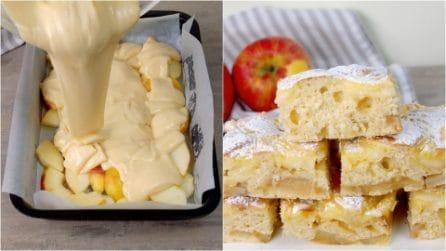 Quadrotti di mele: cremosi e dolcissimi, vi delizieranno il palato!