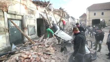 Croazia, nuove scosse di terremoto ma nessun crollo ulteriore