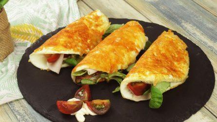 Tacos con uova e formaggio: l'idea sfiziosa per una cena originale e saporita!
