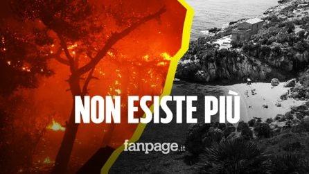 Incendio distrugge la riserva dello Zingaro in Sicilia: un pezzo di paradiso divorato dalle fiamme