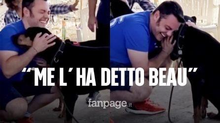 """Tiziano Ferro adotta un altro cane dopo la morte di Beau: """"Jack era suo amico, è ferito e ha 8 anni"""""""