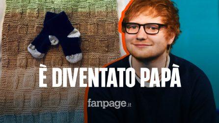 """Ed Sheeran è diventato papà, è nata Lyra Antarctica: """"Siamo follemente innamorati di lei"""""""