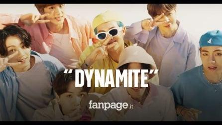"""""""Dynamite"""" è il nuovo singolo dei BTS: brano in inglese e omaggio a Michael Jackson"""