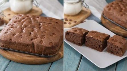 Castella cake al cioccolato: la torta soffice e golosa da provare subito!