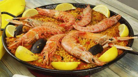 Paella di pesce: i segreti per farla in casa!