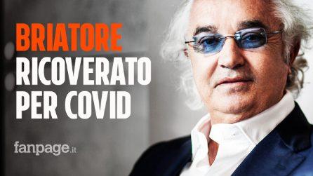 Flavio Briatore ricoverato per Covid-19 al San Raffaele di Milano