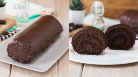 Chocolate roll: a delicious dessert perfect for any occasion!