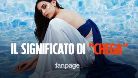 """Il significato di """"Chega"""", la canzone di Gaia Gozzi da 30 milioni di visualizzazioni"""