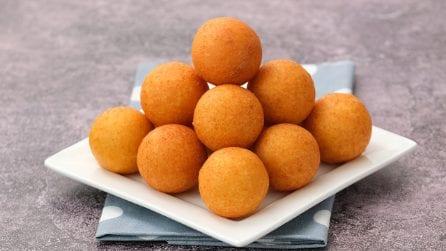 Bunuelos al formaggio: le palline sfiziose di cui non potrete più fare a meno!