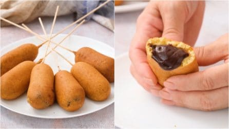 Fried chocolate: a sweet treat to die for!