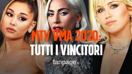 MTV VMA 2020 tutti i vincitori della serata: Lady Gaga regina indiscussa, porta a casa 5 premi
