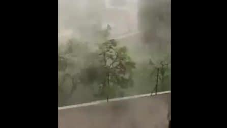 La violenza del nubifragio che ha messo in ginocchio Ancona
