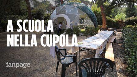 """Roma, una """"cupola trasparente"""" per le lezioni all'aperto in sicurezza"""