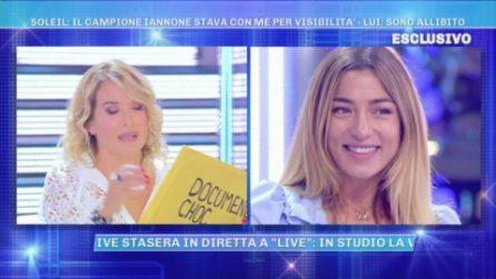 """L'accusa a Soleil Sorge: """"Soleil chiamava i paparazzi quando stava con Andrea Iannone"""""""