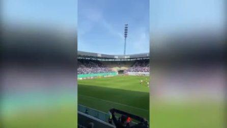 Germania, oltre settemila tifosi allo stadio nonostante l'emergenza coronavirus