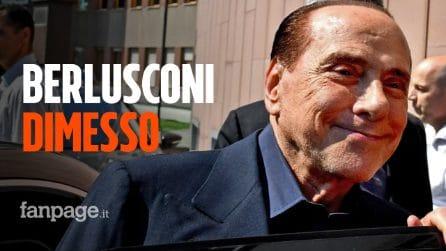 """Berlusconi lascia il San Raffaele dopo il Coronavirus: """"Anche questa volta l'ho scampata"""""""