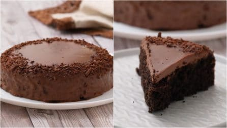 No-oven chocolate cake: the result is so mouth-watering!