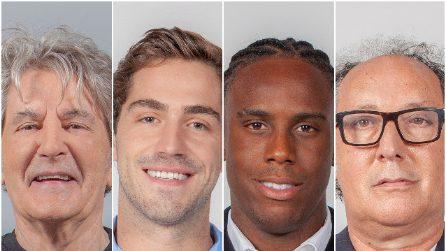 Grande Fratello Vip 2020: Fausto Leali, Tommaso Zorzi, Enock Barwuah e Fulvio Abbate si presentano