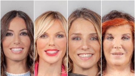 GF Vip 2020: Elisabetta Gregoraci, Matilde Brandi, Myriam Catania e Patrizia De Blanck si presentano