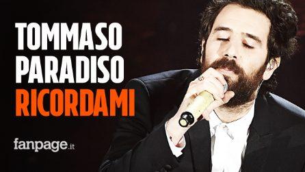 """Tommaso Paradiso """"Ricordami"""": il significato dell'ultimo singolo dell'ex frontman dei TheGiornalisti"""