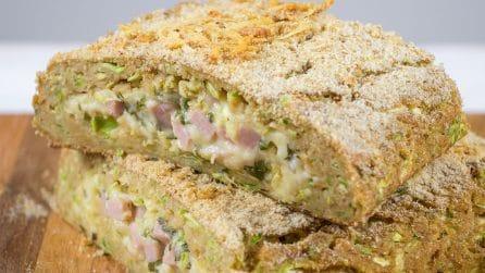 Polpettone di zucchine: la ricetta leggera e piena di sapore per una cena originale!