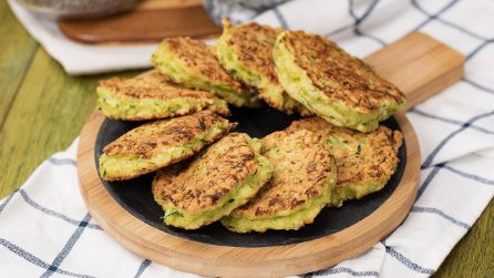 Quick Zucchini Fritters: Add the spices to make them extra flavorful