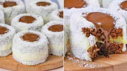 Tortine cocco e cioccolato: perfette per ogni occasione!