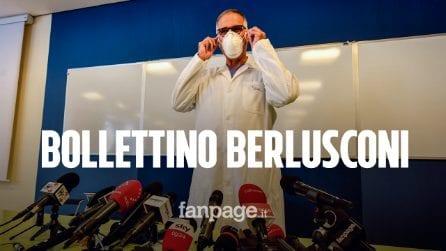 """Ricovero Berlusconi, parla Zangrillo: """"Soggetto a rischio per l'età, al momento non è intubato"""""""