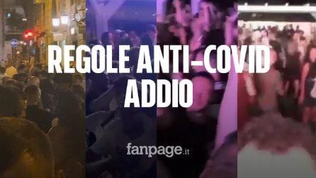 Movida e locali senza controllo in Campania: nessuno indossa le mascherine e rispetta le ordinanze