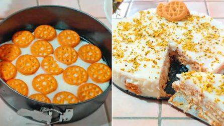 Torta bianco mangiare: la ricetta del dessert cremoso e goloso