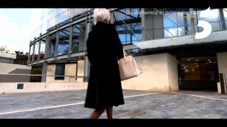 Barbara d'Urso è Miranda de Il diavolo veste Prada nel promo di Live - Non è la d'Urso