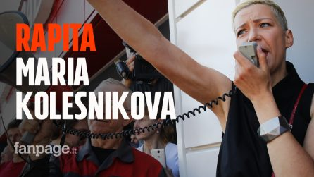 """Bielorussia, rapita l'attivista Maria Kolesnikova: """"L'oppositrice portata via da uomini mascherati"""""""