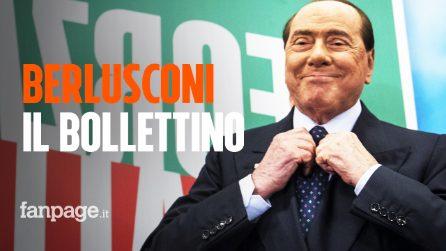 """Le condizioni di Silvio Berlusconi, il bollettino: """"Il quadro clinico è in miglioramento"""""""