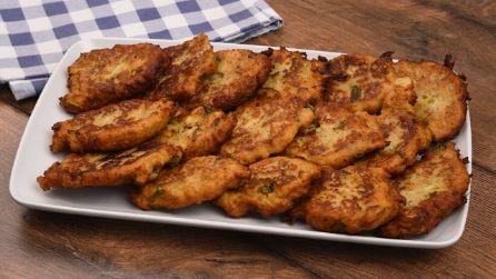 Eggplant fritters: easy and quick to make!