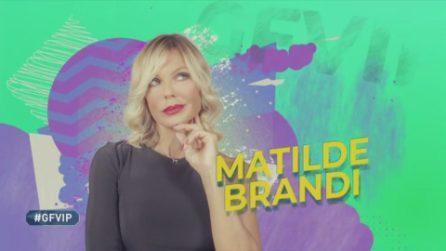 Matilde Brandi al Grande Fratello VIP, la clip di presentazione