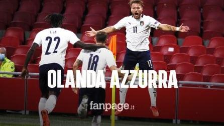 Nations League, l'Italia batte l'Olanda 1-0: gol di Barella, ma preoccupa l'infortunio di Zaniolo