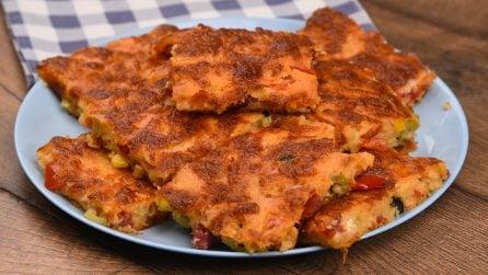 Quadrotti furbi: come preparare una torta salata pronta in soli 30 minuti!
