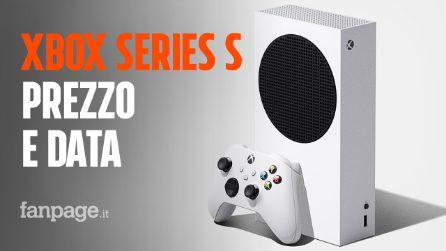 Xbox Series S è ufficiale: prezzo e data di uscita della next gen economica di Microsoft