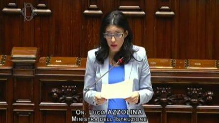 Scuola, Azzolina: potranno esserci sospensioni ma no allarmismi