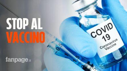 """Stop a sperimentazione vaccino AstraZeneca - Oxford: """"Effetti indesiderati in un volontario"""""""