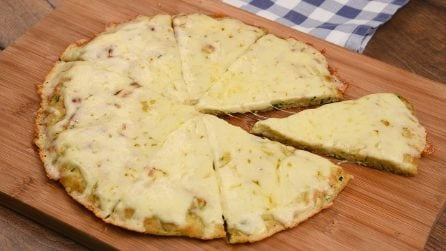 Zucchini pizza: an easy and tasty idea ready in a few steps!
